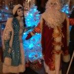 Мимы Дед Мороз и Снегурочка!