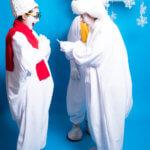 Пантомимы снежки на мероприятие