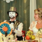 Мим на свадьбе